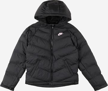 Nike Sportswear Kevad-sügisjope, värv must