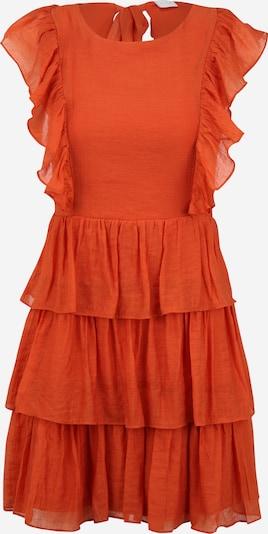 Vila Petite Kleid in rostbraun, Produktansicht