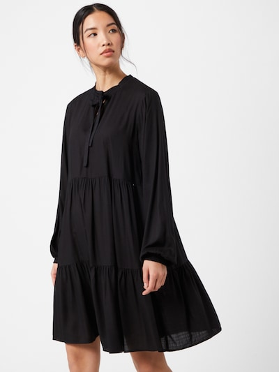 TOM TAILOR DENIM Robe en noir, Vue avec modèle