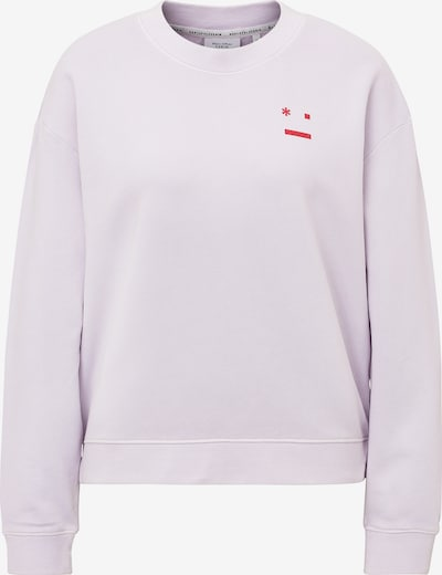 Marc O'Polo DENIM Sweatshirt in lavendel / rot, Produktansicht