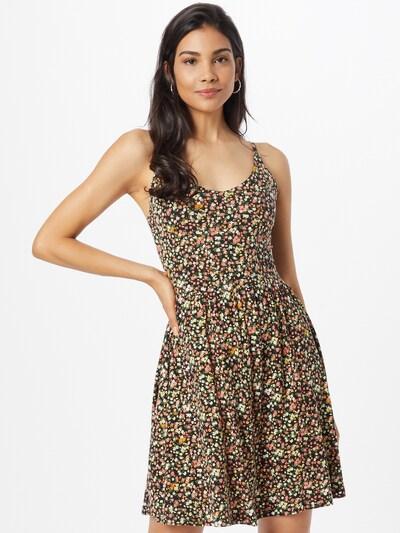 Funky Buddha Kleid in mischfarben / schwarz, Modelansicht