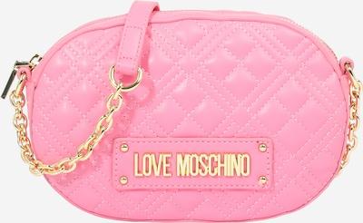 Geantă de umăr Love Moschino pe auriu / roz, Vizualizare produs