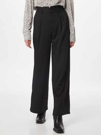 Tally Weijl Pleat-front trousers in Black, View model