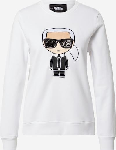 Karl Lagerfeld Sweatshirt 'Ikonik' in weiß, Produktansicht