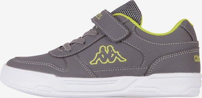 KAPPA Sneaker 'Dalton' in gelb / grau, Produktansicht