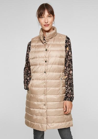 s.Oliver BLACK LABEL Vest in Beige, View model