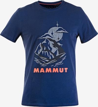 MAMMUT Shirt in marine / pink / schwarz, Produktansicht