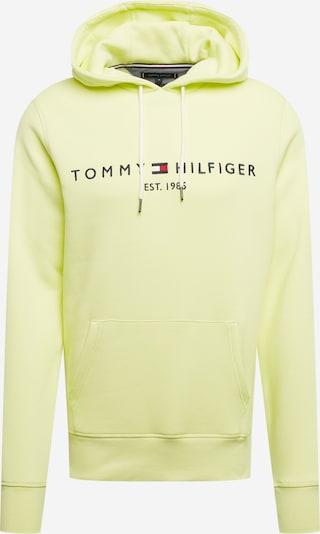 TOMMY HILFIGER Mikina - námornícka modrá / citrónová žltá / ohnivo červená / biela, Produkt