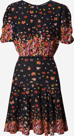 Derhy Kleid in gelb / lila / rot / schwarz / weiß, Produktansicht