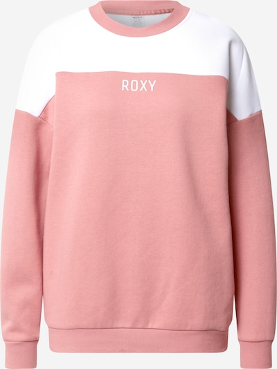 ROXY Sport-Pullover in rosa / weiß, Produktansicht