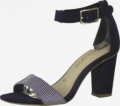 TAMARIS Páskové sandály - námořnická modř / bílá, Produkt