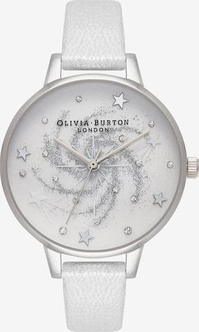 Olivia Burton Uhr in Silber