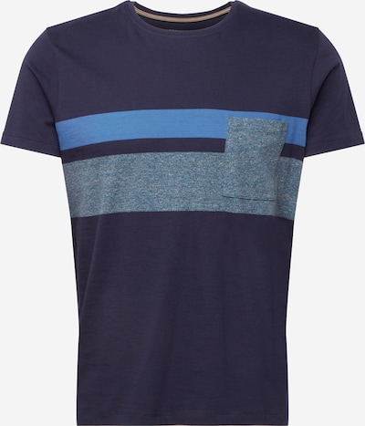 ESPRIT Skjorte i navy / lyseblå / grå: Frontvisning