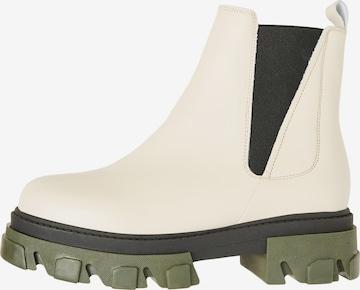 VERO MODA Chelsea Boots 'Lisa' in Grau