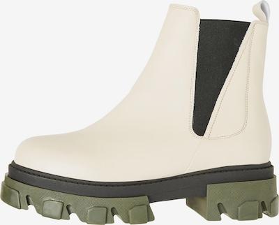 VERO MODA Chelsea Boots 'Lisa' en gris clair / olive / noir, Vue avec produit