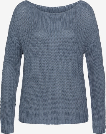 LASCANA Sweater in Blue