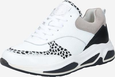 BULLBOXER Sneaker in grau / schwarz / weiß, Produktansicht