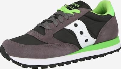 saucony Skriešanas apavi, krāsa - grafīta / neonzaļš / melns / balts, Preces skats
