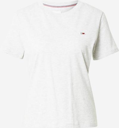 Tricou Tommy Jeans pe gri deschis, Vizualizare produs
