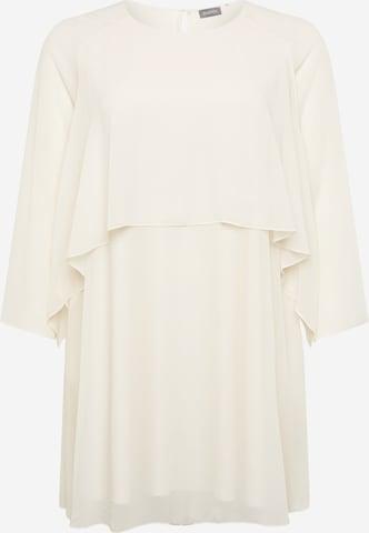 SAMOON Kleid in Weiß