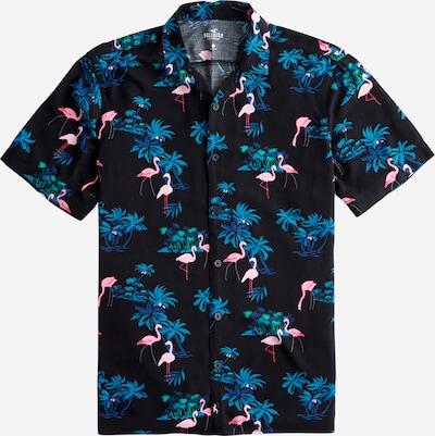 HOLLISTER Hemd 'Rayon' in mischfarben / schwarz, Produktansicht