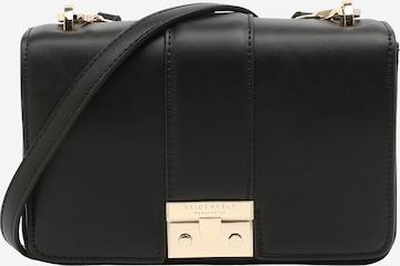 Seidenfelt Manufaktur Crossbody bag 'Tuna' in Black