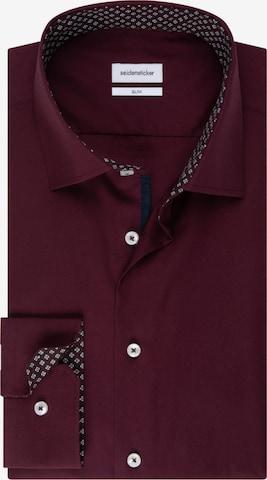 SEIDENSTICKER Business Shirt ' Slim ' in Red