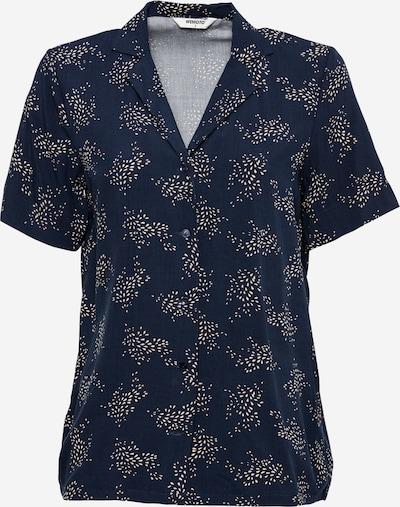 Wemoto Bluse 'SCOTTS' in beige / blau, Produktansicht