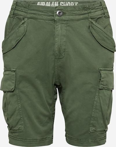 Pantaloni cu buzunare 'Airman' ALPHA INDUSTRIES pe verde închis, Vizualizare produs