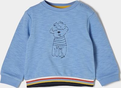 s.Oliver Sweatshirt in hellblau / mischfarben, Produktansicht