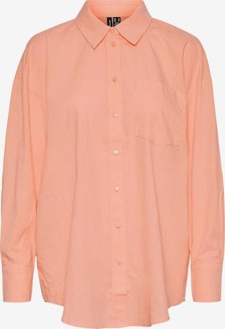 VERO MODA Bluse 'Elise' in Orange