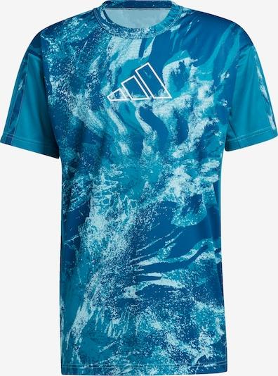 ADIDAS PERFORMANCE Funkční tričko 'Ball for the Oceans 365' - marine modrá / nebeská modř / bílá, Produkt