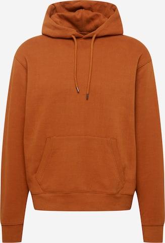 Felpa di Levi's Made & Crafted in marrone