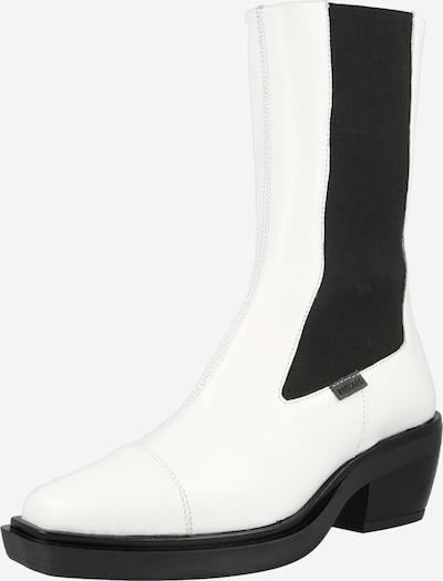 Greyderlab Čelsijas zābaki, krāsa - melns / dabīgi balts, Preces skats