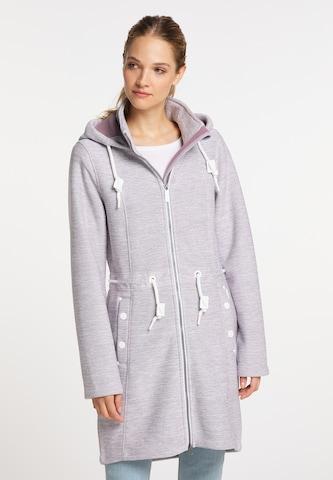 ICEBOUND Between-Seasons Coat in Purple