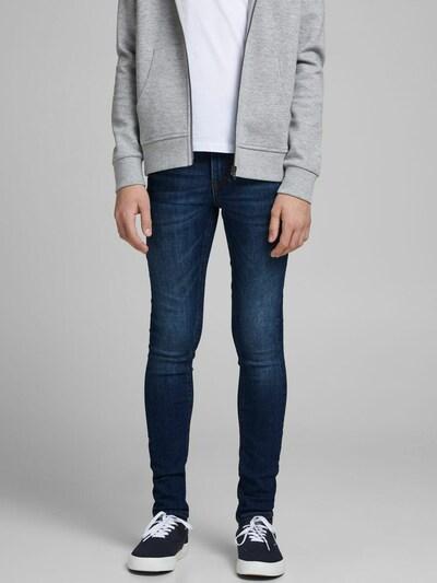 Jack & Jones Junior Jeans 'Dan' in dunkelblau: Frontalansicht