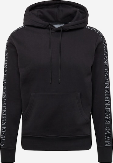 Calvin Klein Jeans Sweatshirt 'Shadow' in Black / White, Item view