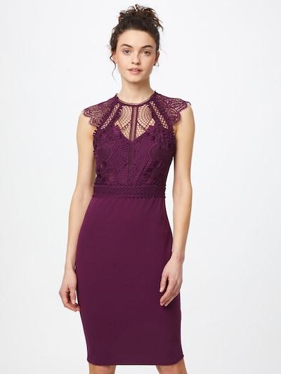 Lipsy Sukienka koktajlowa w kolorze czerwone winom, Podgląd na modelu(-ce)