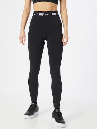Nike Sportswear Legíny - čierna / biela, Model/-ka