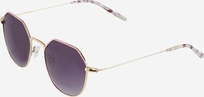 TAMARIS Sonnenbrille in beige / gold / dunkellila, Produktansicht