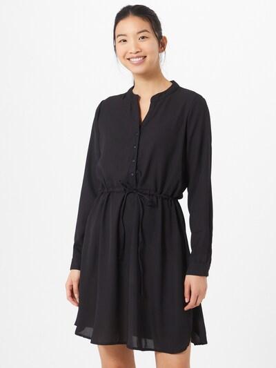 ONLY Skjortklänning 'Cory' i svart, På modell