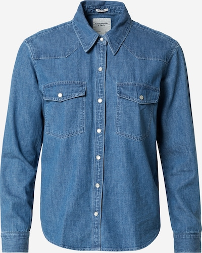 Abercrombie & Fitch Blouse in Blue denim, Item view