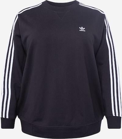 ADIDAS ORIGINALS Sudadera en negro / blanco, Vista del producto