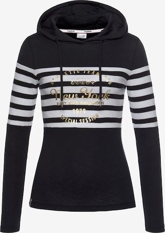 KangaROOS Sweatshirt in Black