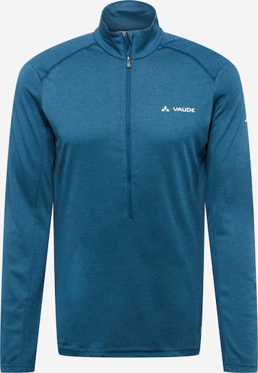 VAUDE Shirt 'Larice' in violettblau / weiß, Produktansicht