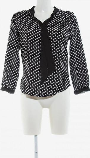 Zanzea Schlupf-Bluse in S in schwarz / weiß, Produktansicht