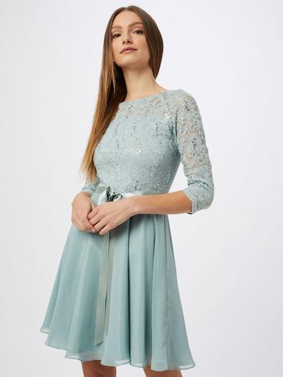 SWING Kleid in cyanblau, Modelansicht