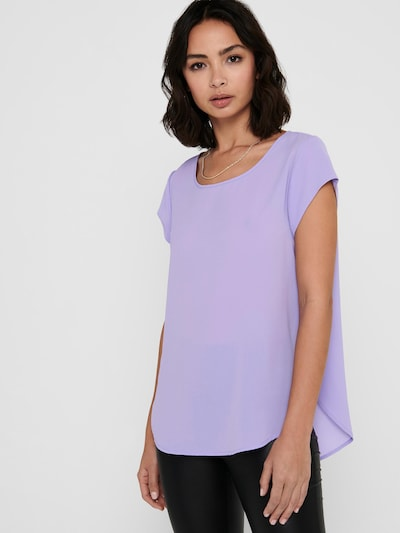 ONLY Blouse 'Vic' in de kleur Lavendel, Modelweergave