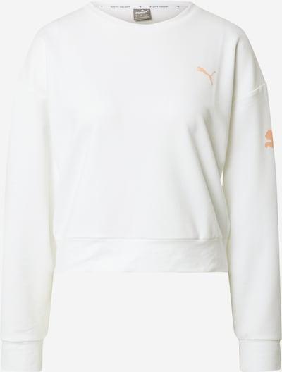 PUMA Sportsweatshirt 'Modern Sports' in koralle / weiß, Produktansicht