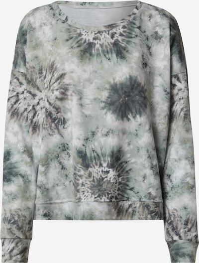 Onzie Sportsweatshirt in mint / dunkelgrün / weiß, Produktansicht